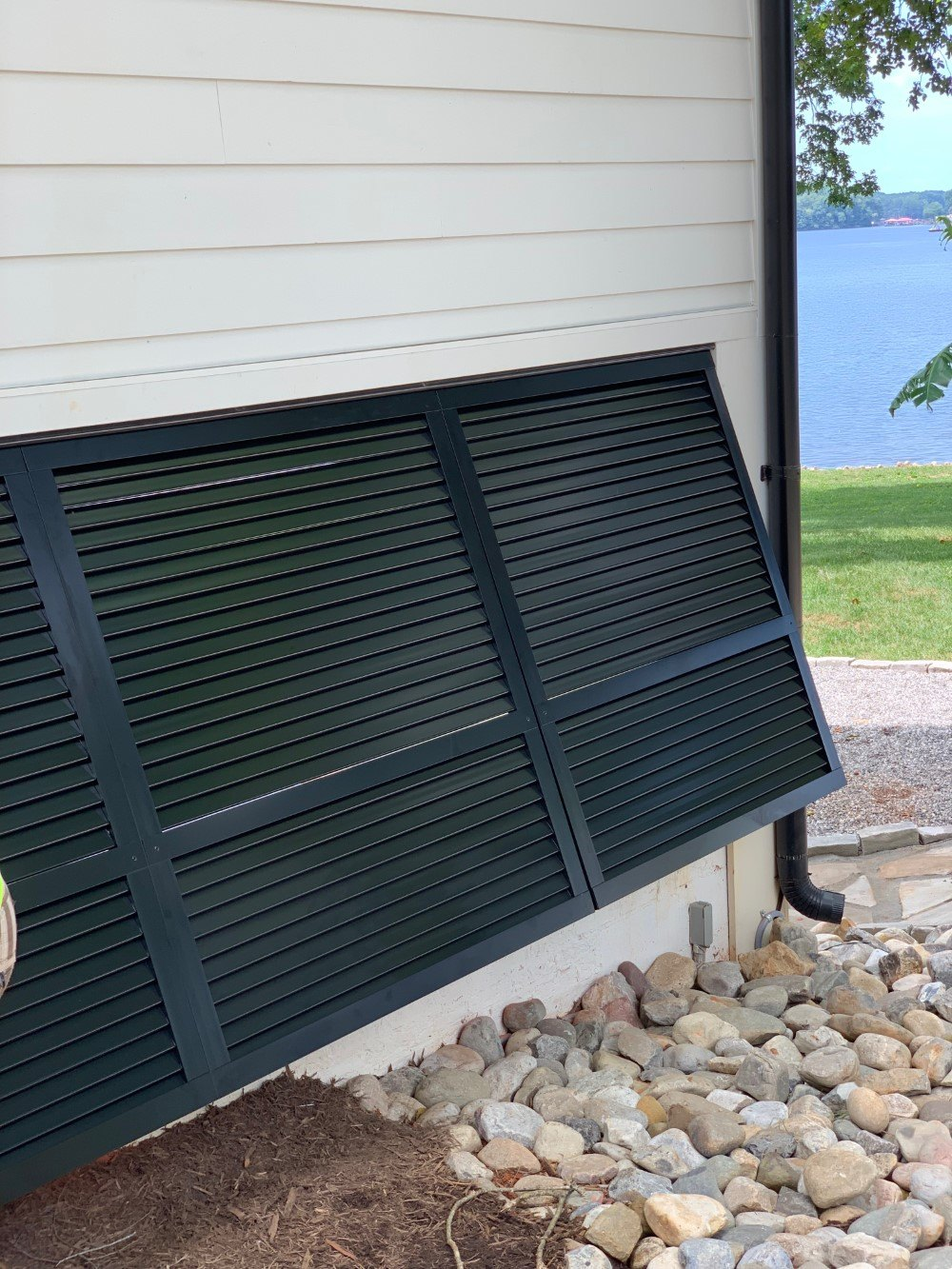 Aluminum Decorative Bahama Shutters in Mooresville, NC
