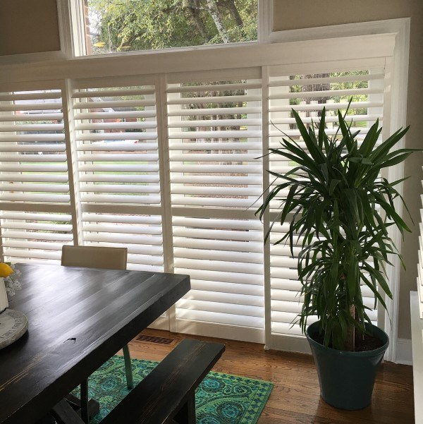 Eclipse Shutters with UltraSatin finish in Denver, NC