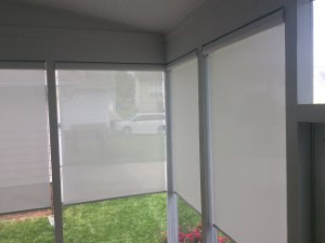 Exterior Roller Shades in Mint Hill, NC