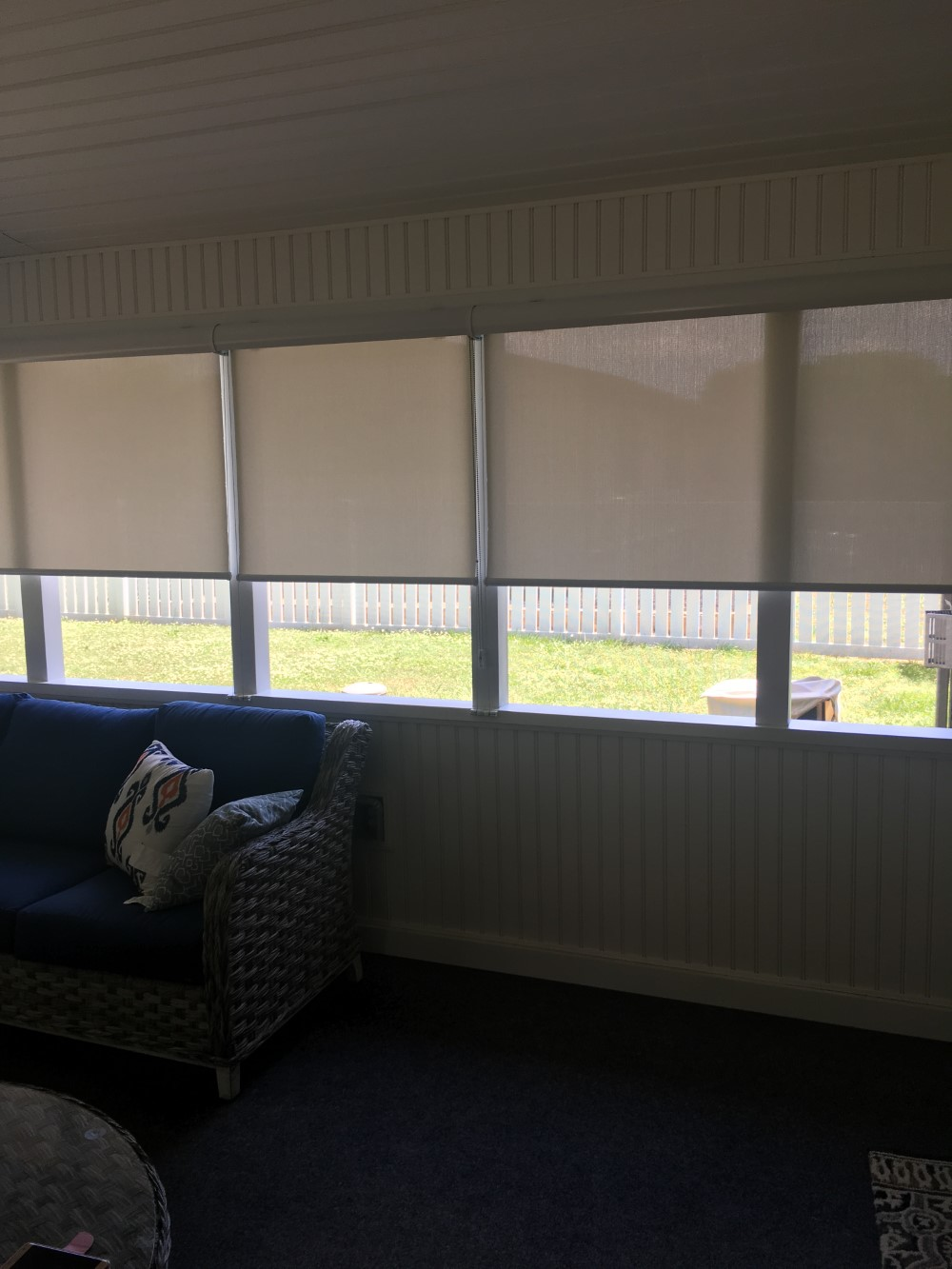 Exterior Roller Shades in Mooresville, NC