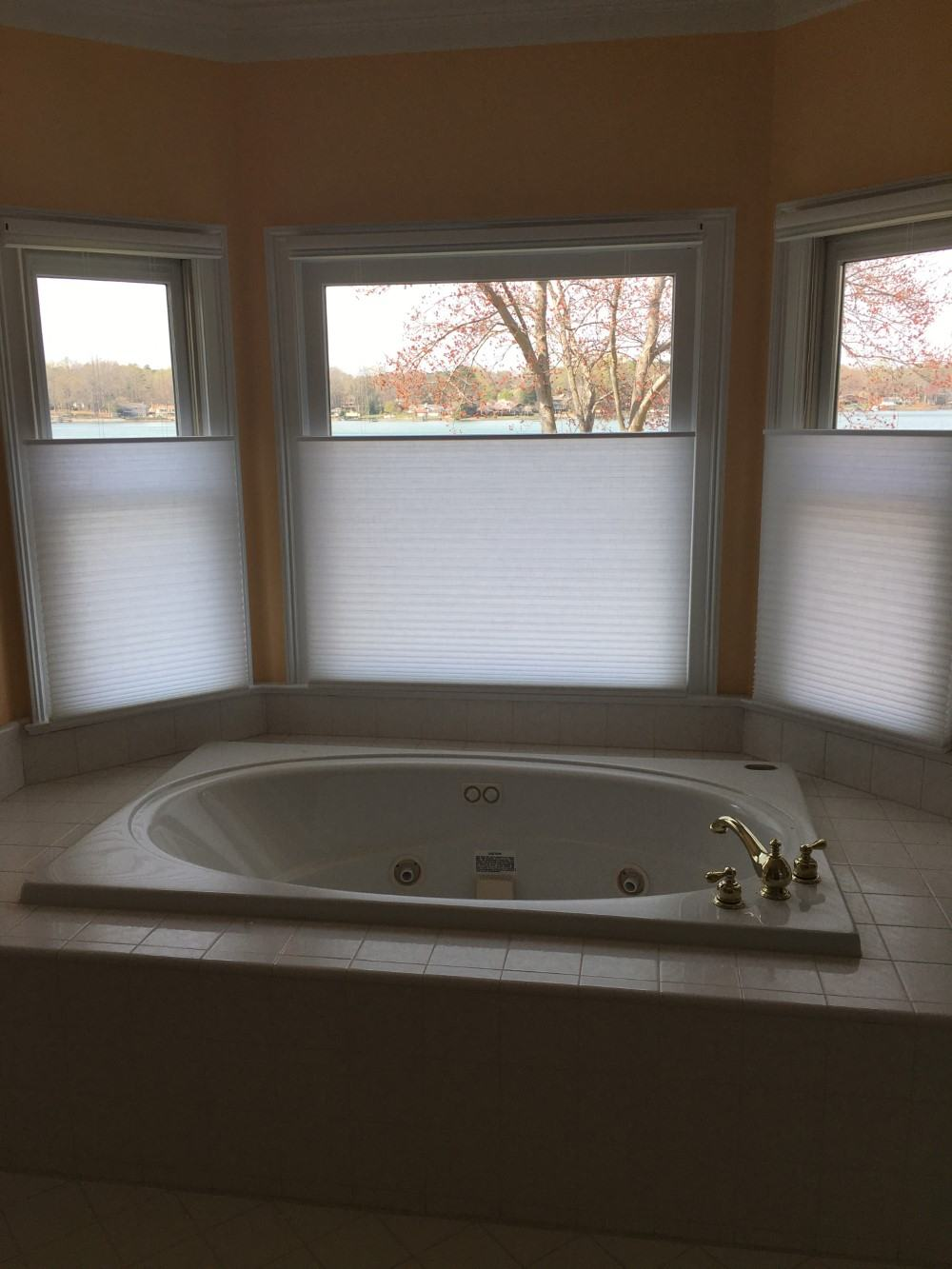 Top Down Bottom Up, Honeycomb Shades Installed in Denver, NC