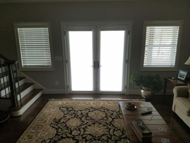 One Touch Roller Shades in Troutman, NC